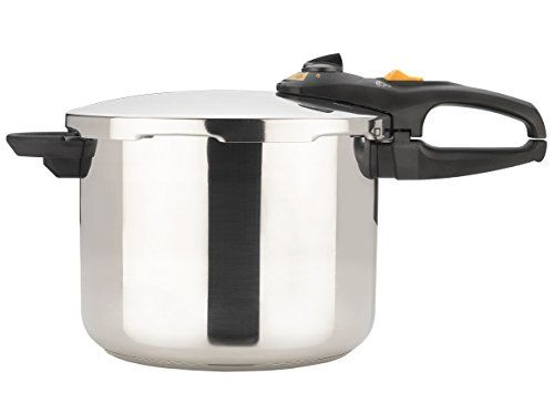 Fagor Duo 8-Quart Stainless-Steel Pressure Cooker with Steamer Basket Fagor http://www.amazon.com/dp/B00023D9RG/ref=cm_sw_r_pi_dp_Xsnrwb0X4VVCD
