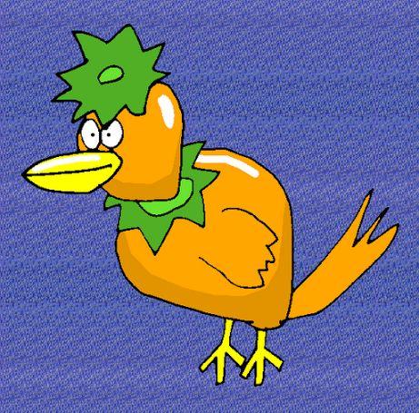 Persimmon Bird / かきとり / #Animal #Hybrid #Chimera