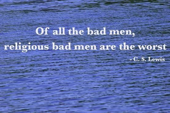 Bad men | Top 100 C.S. Lewis quotes | #faith #quotes #cslewis