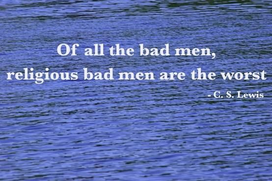 Bad men | Top 100 C.S. Lewis quotes | #faith #quotes #cslewis