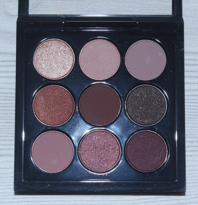 MAC Burgundy Times Nine Eyeshadow Palette