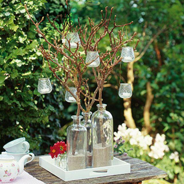 Tolle Sommer-Deko für den Garten #sommer #garten #DIY #evian #natural #mineralwater