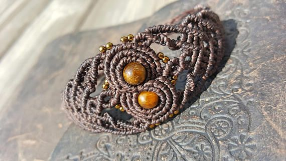 Check out this item in my Etsy shop https://www.etsy.com/ca/listing/520898370/tigers-eye-infinity-bracelet