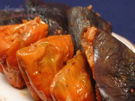 Zeytinyağlı Kuru Dolma Tarifi - Kevser'in Mutfağı - Yemek Tarifleri