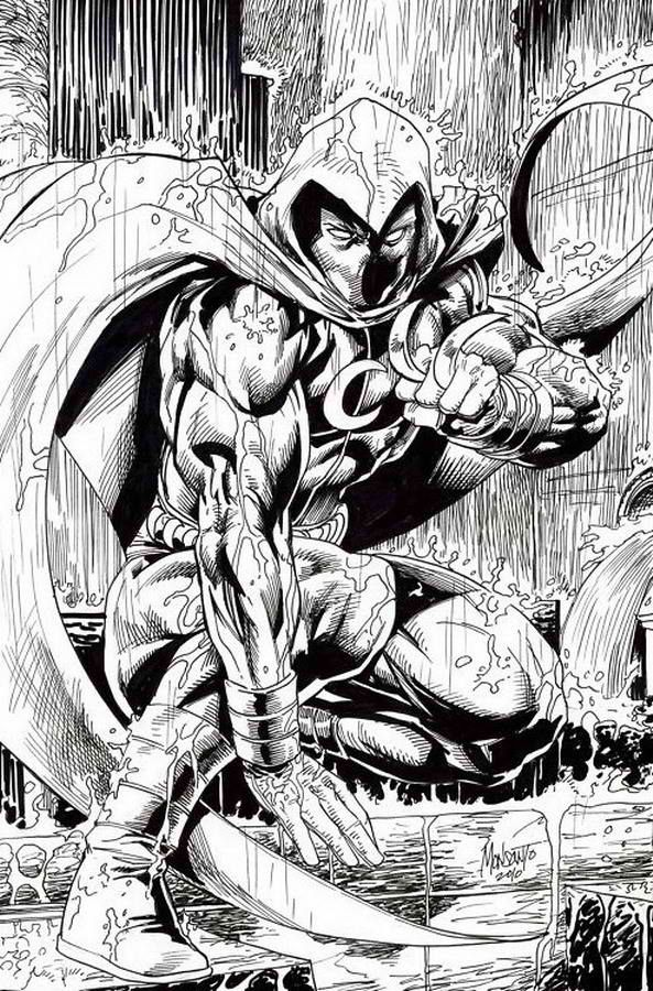 Image result for jim lee moon knight