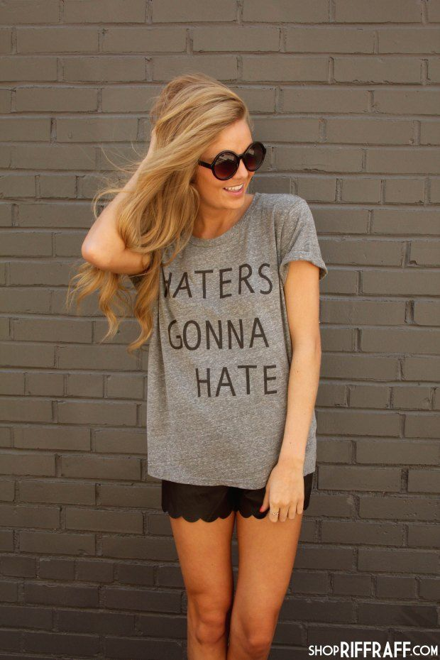 HATERS GRAPHIC TEE
