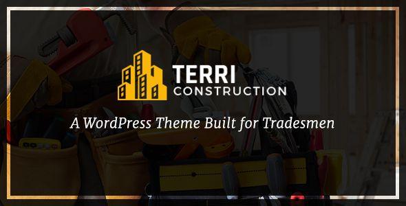 Terri - Construction WordPress Theme - Business Corporate