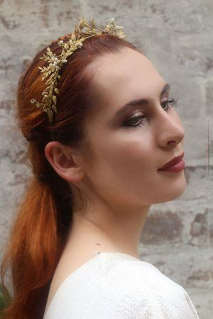 The House Of Hats ' Enchantment' Crown. Available to order online. www.thehouseofhats.com.au