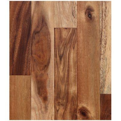 """Easoon USA 4-3/4"""" Engineered Acacia Hardwood Flooring in Natural"""