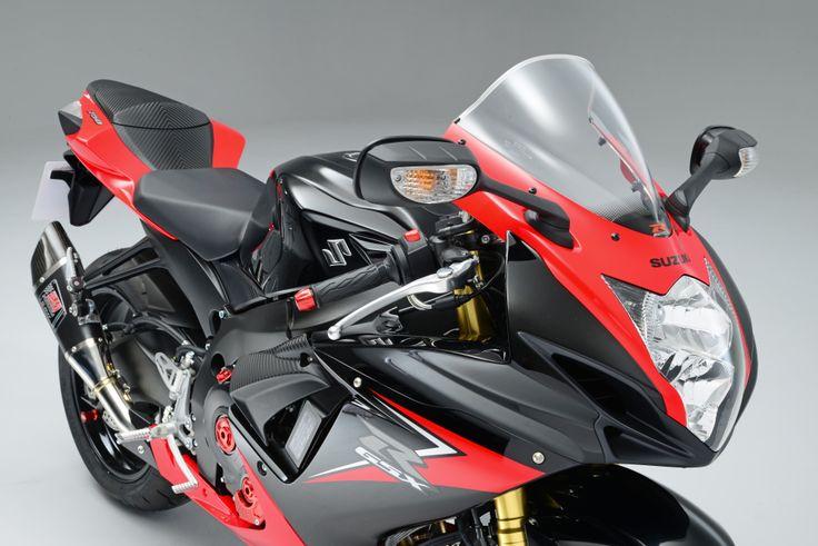The 2014 GSX-R750 Yoshimura edition.