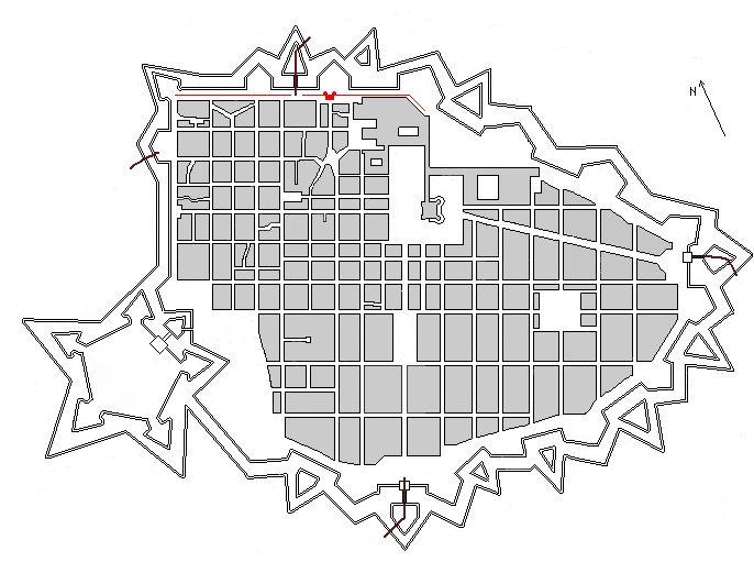 II ampliamento di Torino sotto Carlo Emanuele II