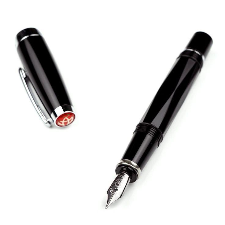 TWSBI Diamond Mini Fyldepen - Sort - Stilografika - notesbøger, fyldepenne, blyanter og tilbehør