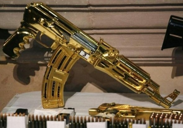 HOUSE OF THE DAY: Seized Mansion Of Mexican Drug Dealer Filled With Weapons And Exotic Animals | Guns | Pinterest | Guns, Weapons and Firearms