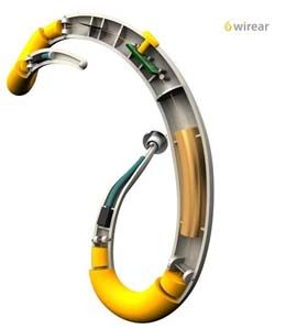 Wireear is a smooth design with functionality in mind. The smart shape situates the microphone right to the front of the ear, and the speaker ends up right inside the ear canal. By positioning these essential hearing aid elements just right, the creators hope to cut down on common hearing aid problems, including echoes and poor sound quality. On the visual end, this hearing aid looks like a bracelet around your ear. On top of an improved assistive listening device, you have an awesome…