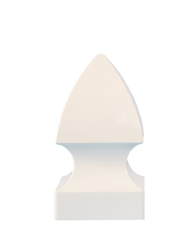 Classy Caps BN244 New England Ball PVC Post Cap 4 x 4
