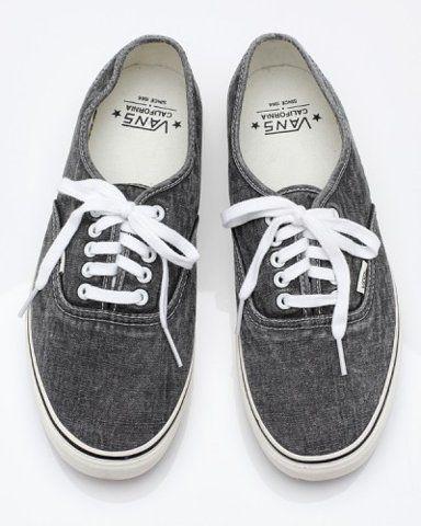 california: Vans 3, Shoes Vans Kids, Vans Life, Cool Vans, Men Shoes, Grey Vans Shoes, Vans Authentic, Denim Vans, Tennis Shoes