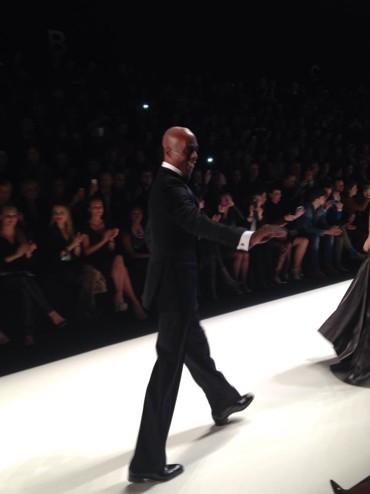 Bruce Darnell @Jess Fall/Winter 2014/15 Fashion Show @Mercedes-Benz Fashion Week