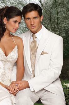I love my man in a white tux :)