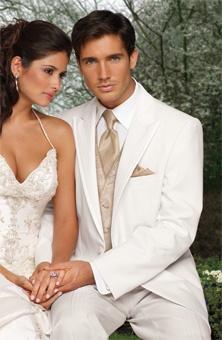 I love my man in a white tux :)