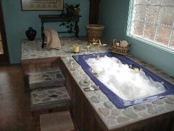 19 best bathroom tile ideas images on pinterest for Master bathroom with jacuzzi tub