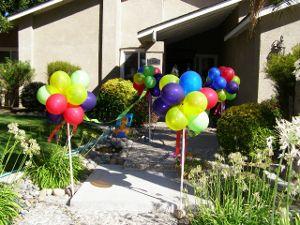 decoracion de cumpleaños al aire libre - Buscar con Google