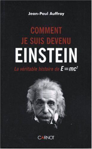 """#sciences : Comment je suis devenu Einstein : La véritable histoire de E=mc². Albert Einstein est entré dans la légende, de son vivant, avec la célèbre formule E=MC2 , l'une des découvertes majeures de la physique. En est-il vraiment le """" père """" ? La question peut surprendre. Pourtant, le Comité Nobel n'a pas lugé utile de lui décerner le prix à ce titre. Il l'a reçu, en 1921, mais pour des travaux mineurs en comparaison. Au fil de la lecture de Comment je suis devenu Einstein se dessine..."""