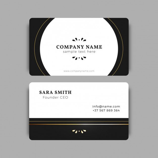 Download Black And Gold Business Card Template For Free Gold Business Card Google Business Card Business Card Template