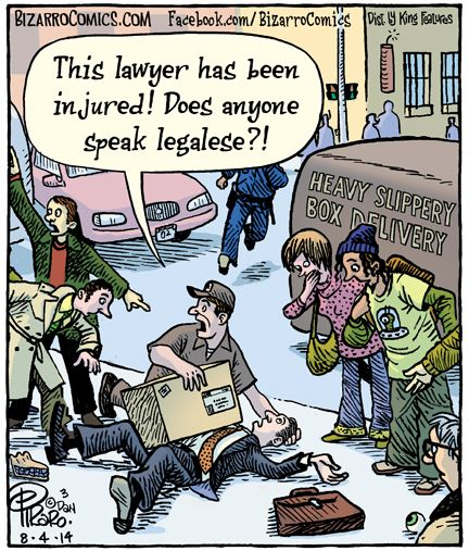 Image result for he's a lawyer legalese