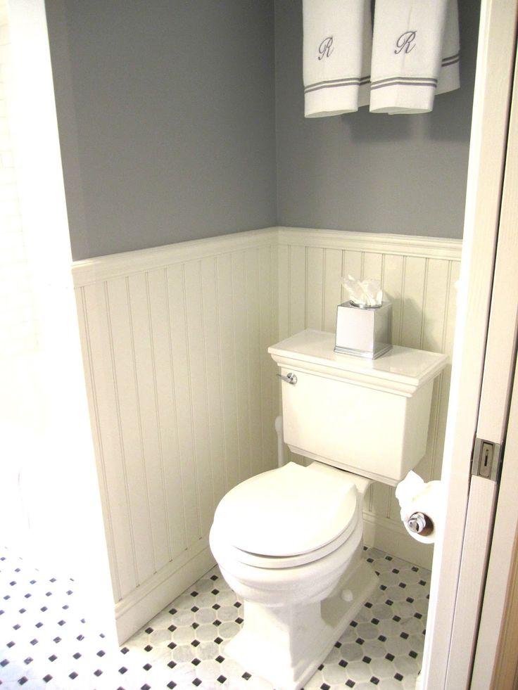 Summer Updates and Coastal Bathrooms...Ben Moore Silent Night