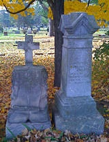 All Souls Day - visit your local cemetery and pray for people you don't know.  What a powerful witness of faith and resurrection!  Maybe a great spot to collect leaves too!