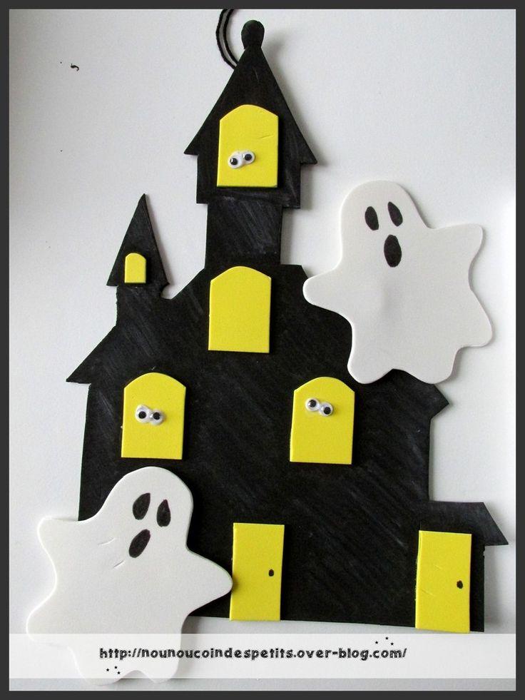 - toujours avec des plaques de mousse en caoutchouc, j'ai réalisé un château…