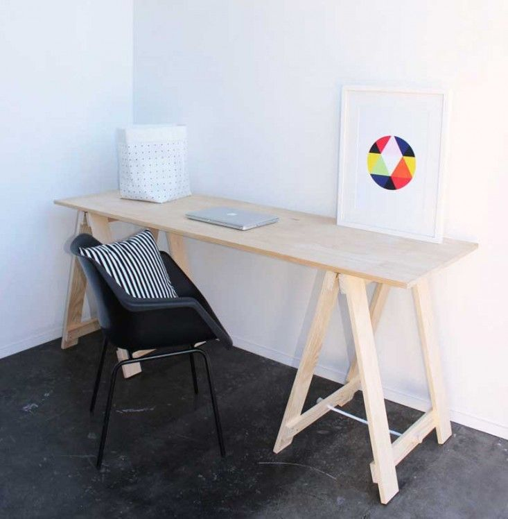 Economy Style 6 Trestle Desks For The New Year