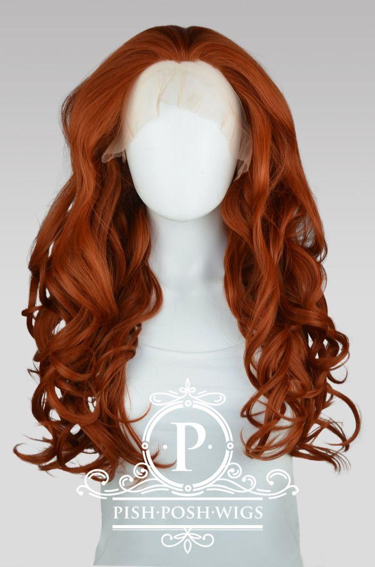 Copper Red Lace Front Wigs - Pish Posh Wigs Store CA, 92705