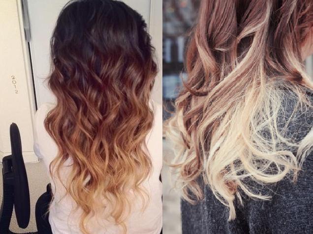Haare fallen aus farben
