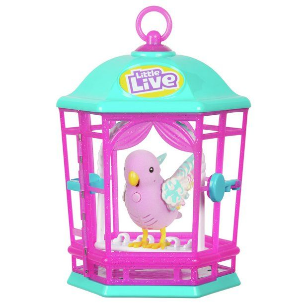 Buy Little Live Pets Bird Cage Playsets And Figures Pet Bird