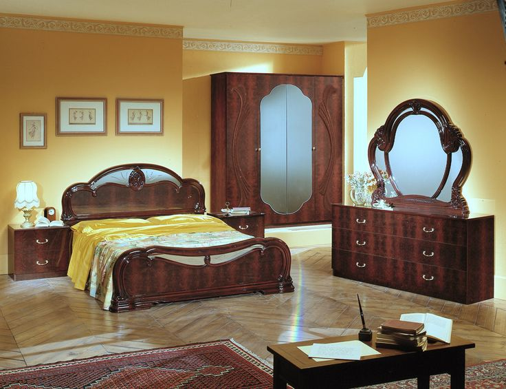18 best italian classic bedroom images on pinterest 3 4 beds black bedrooms and black rooms for Classic italian bedroom furniture