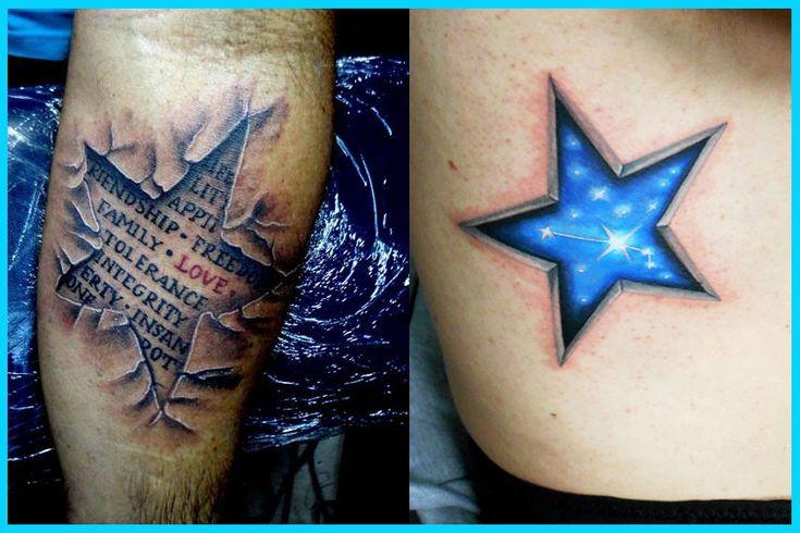 Los Mejores Tatuajes De Estrellass, Tatuajes De Estrellas, Mejores Diseños De Tatuajes De Estrellas, Mejores Tatuajes Del Mundo