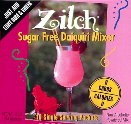 HCG Maintenance Sugar Free Daiquiri Mixer | HCG P3 Alcohol | HCG Phase 3 Alcoholic Drinks. We are now offering the 'Zilch' Sugar Free Daiquiri Mixer for use on HCG Phase 3. This HCG Maintenance Sugar Free Daiquiri Mixer is a powdered mix for making low carb, low calorie alcoholic drinks while on the Maintenance Phase of the HCG This. To use the HCG Maintenance Sugar Free Daiquiri Mixer, just add light rum & water for a delicious HCG P3 alcoholic drink.  http://shrsl.com/?~3dsb  $4.99