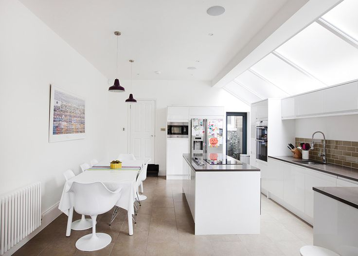 Kitchen design and fittings, extensions, side returns in London