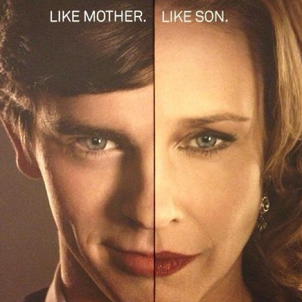 Bates Motel - Like Mother. Like Son.