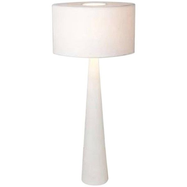 Spectacular Cyclop Table Lamp In Alabaster By Julien Barrault RUB liked on Polyvore