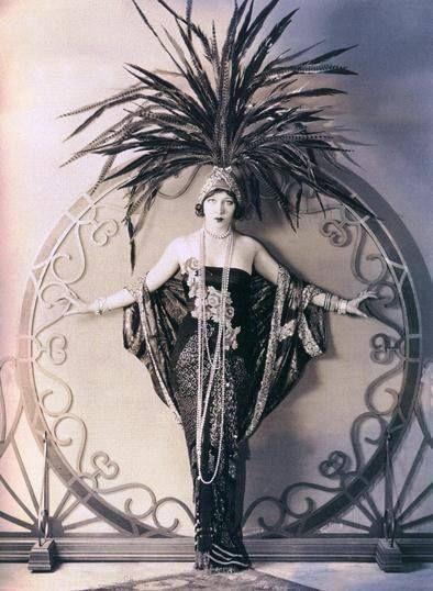 Ziegfeld Showgirl in Pearls