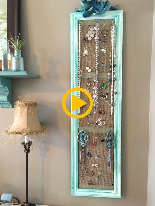 DIY Jewelry Organizer | The Home Depot Community