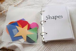 shape book printable
