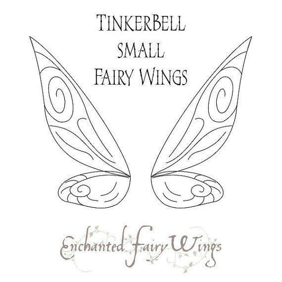 PATRÓN y tutorial de alas de hadas Tinker por enchantedcostumes