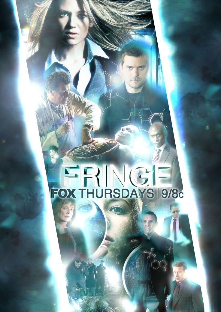 Fringe fan made poster