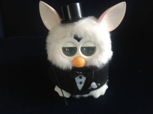 """Ahaha!! That's awesome Clothes for Furby or New Furby Boom Handmade Outfit """"The Groom"""" 