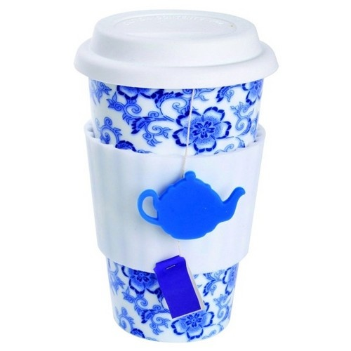 Tea Lovers Eco Cup , $10.99. Beautiful way to drink tea or coffee on the go!