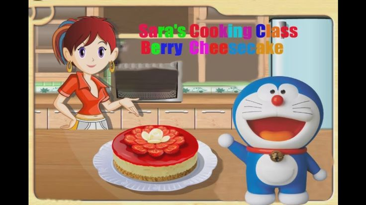 Fun Cooking Game For Kids To Play||Sara's Cooking Class-Strawberry Chees...