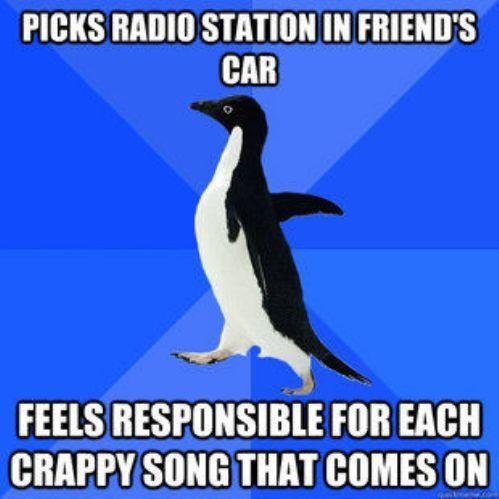 I am Socially Awkward Penguin.